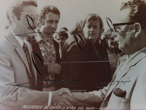 Horacio Seguí y Salvador Allende