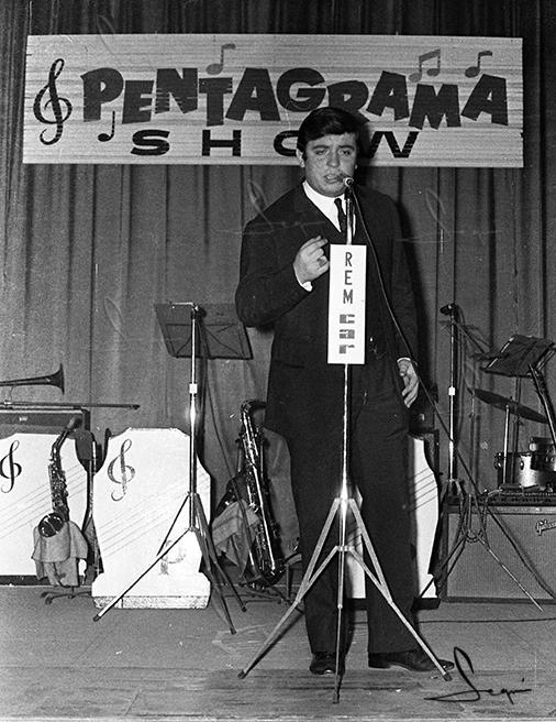 Dyango al programa radiofònic Pentagrama.