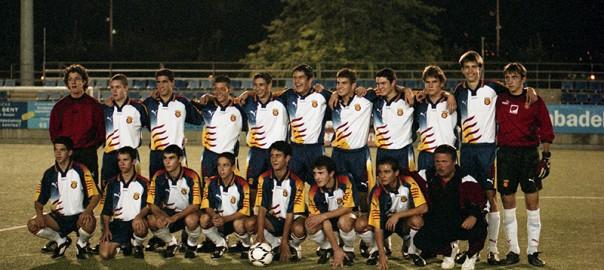 Pre selecció catalana. Octubre del 2002